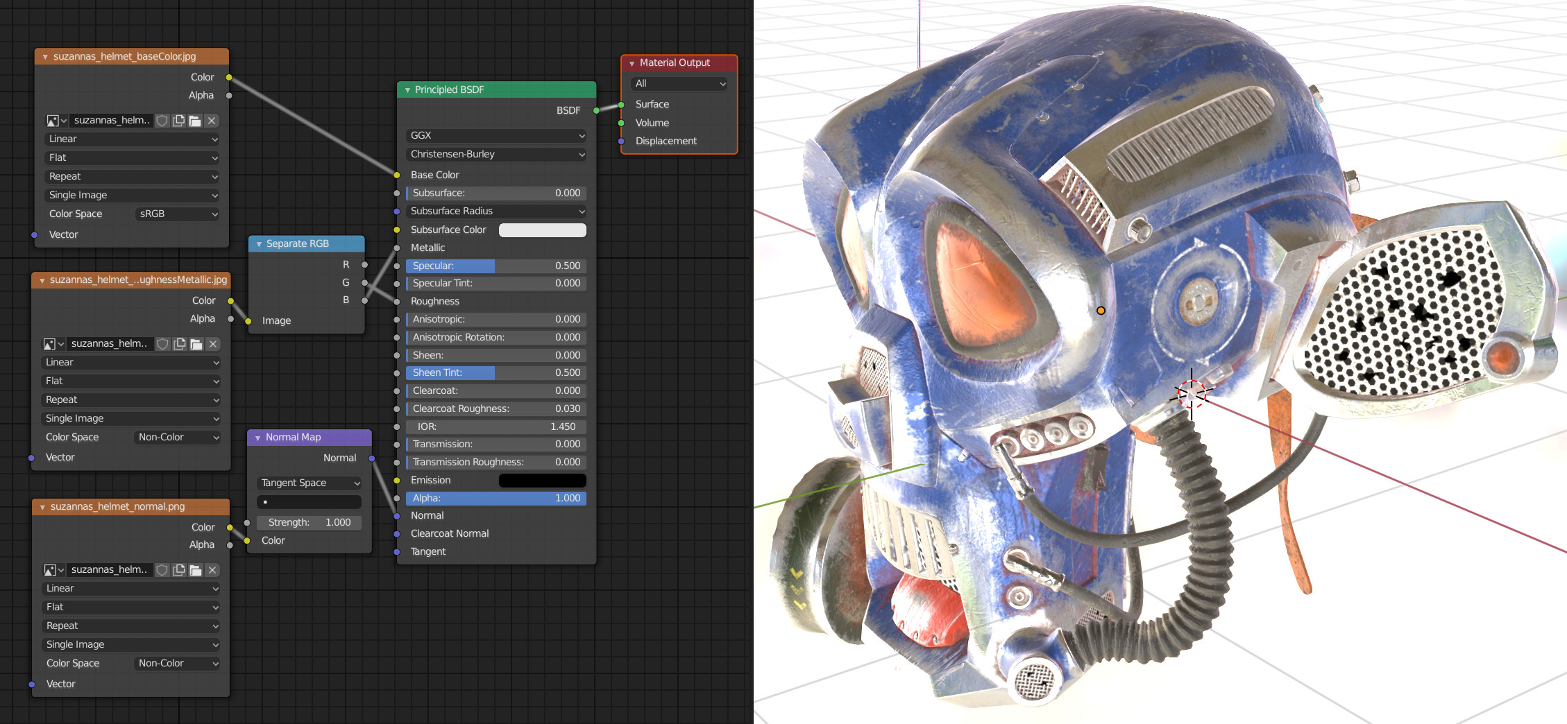 Material System in Verge3D for Blender - Soft8Soft