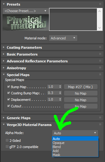 Transparency in Verge3D for 3ds Max - Soft8Soft