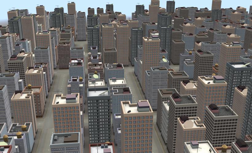 Verge3D City Demo