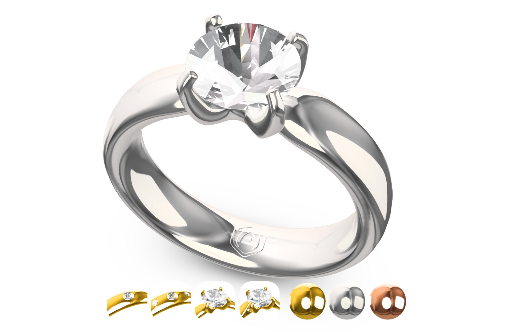 Verge3D Jewelry Configurator