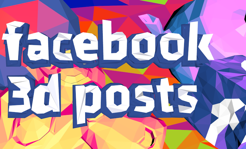 Facebook 3D Posts: Easy With Verge3D!