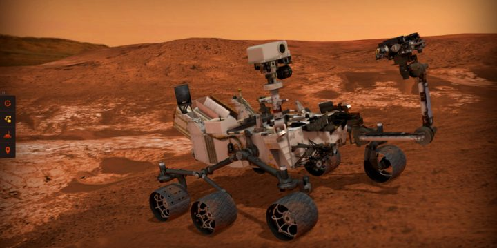 Experience Curiosity: NASA turns to Verge3D
