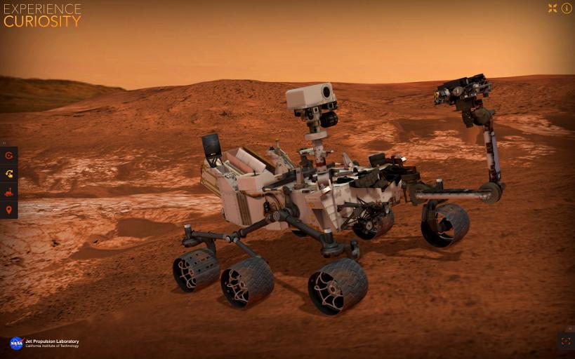 mars rover simulator - photo #10