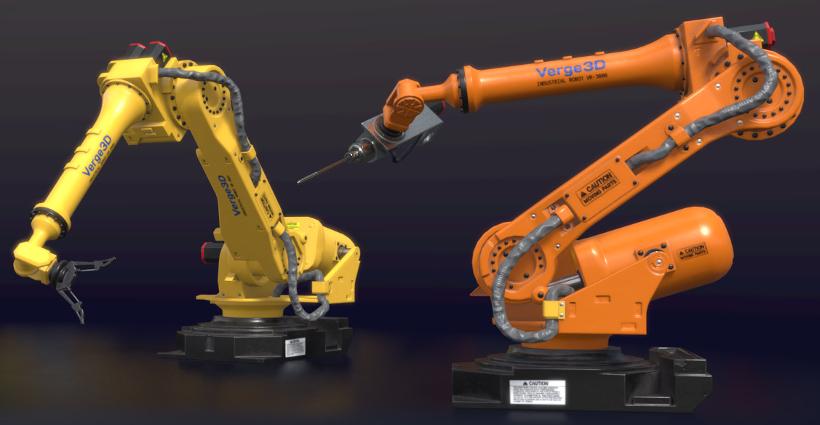 Verge3D Industrial Robot Demo