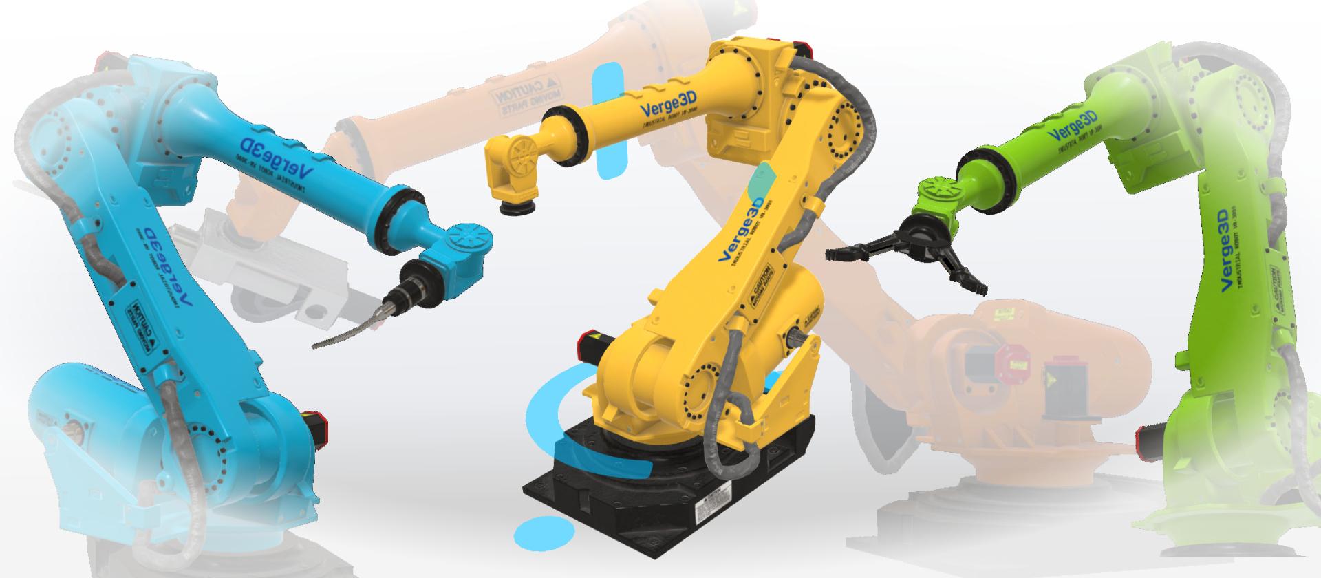 工业机器人VR体验