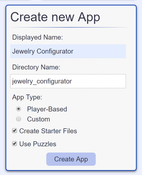 Creating an interactive 3D product configurator using