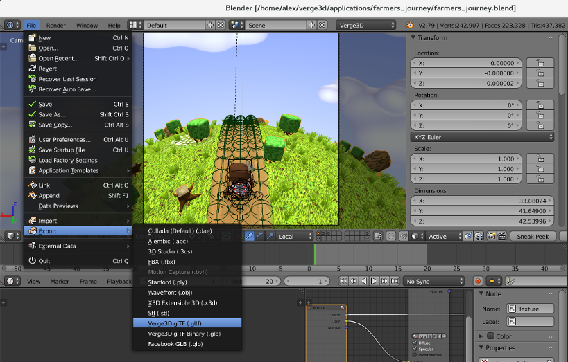 Blender to WebGL in 4 Simple Steps - a quick start guide to