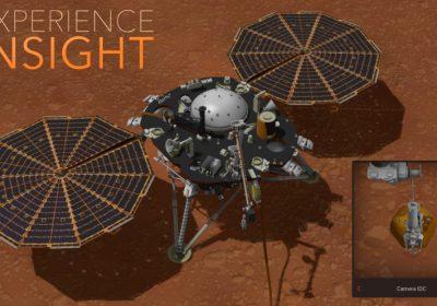 Experience InSight, NASA's New Interactive