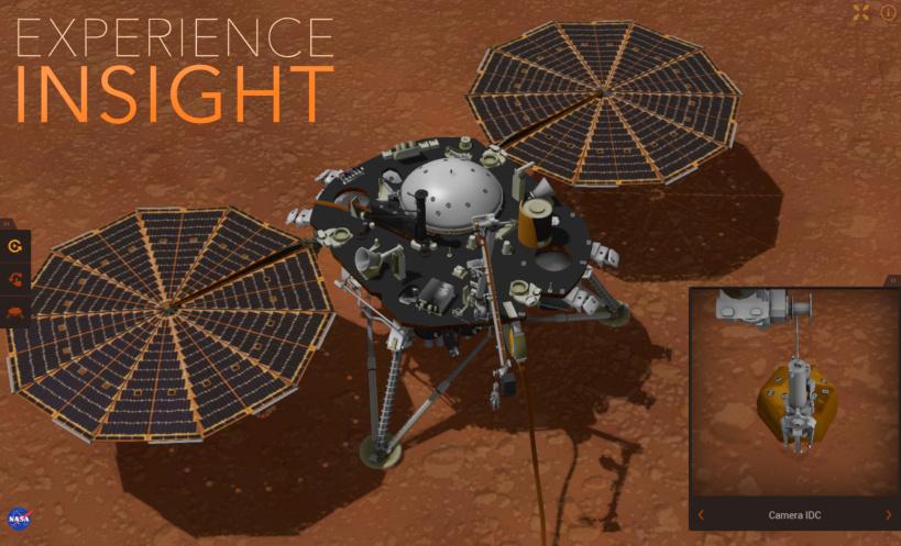 InSight 火星着陆仓