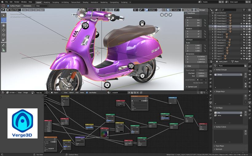 Verge3D 2 9 for Blender Released - Soft8Soft