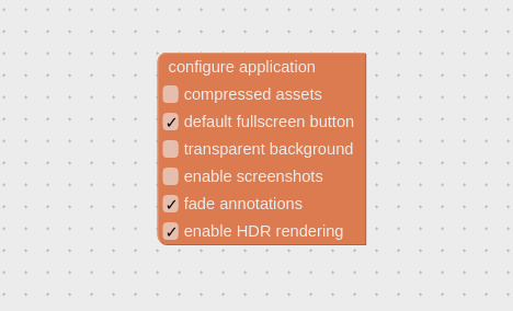 enable HDR in Verge3D