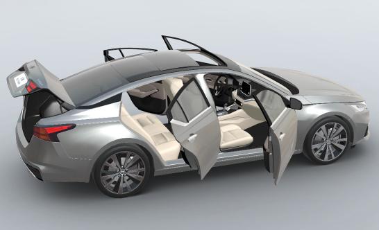 3D 汽车配置器