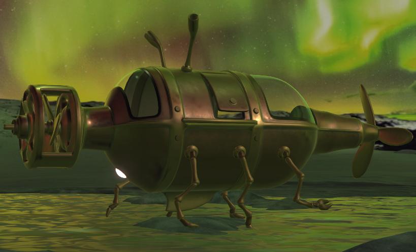太空幻想车
