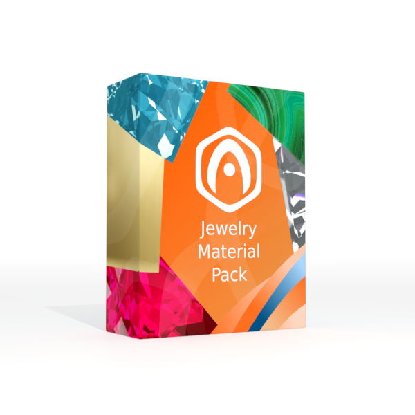 Verge3D for Blender: Jewelry Material Pack