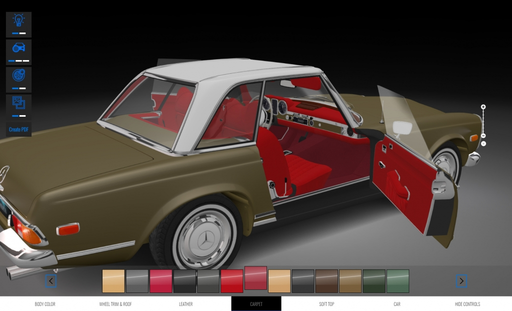 Mercedes-Benz W113 - Soft8Soft