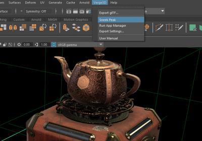 Exporting from Maya to WebGL