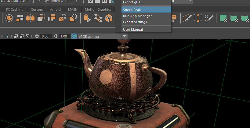 Exporting from Maya to WebGL