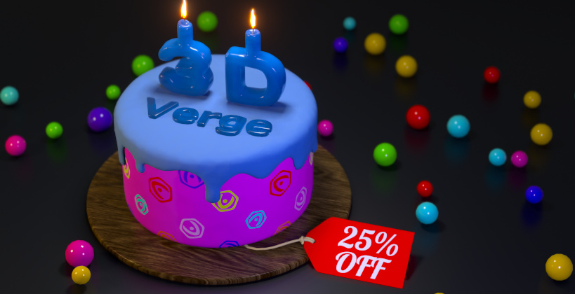Verge3D turned 3! Black Friday 2020