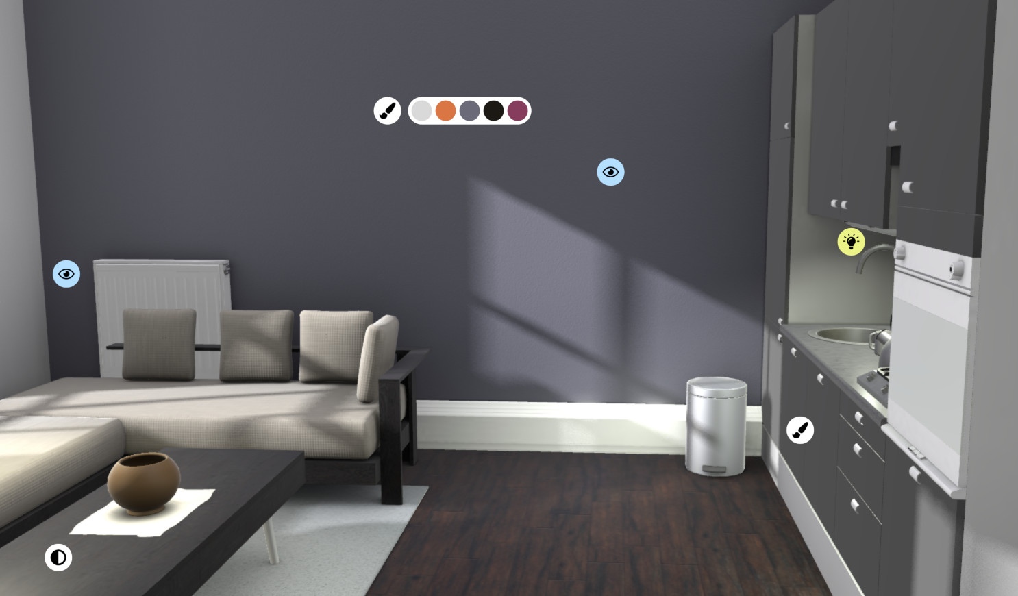 3ds Max version of the global illumination demo