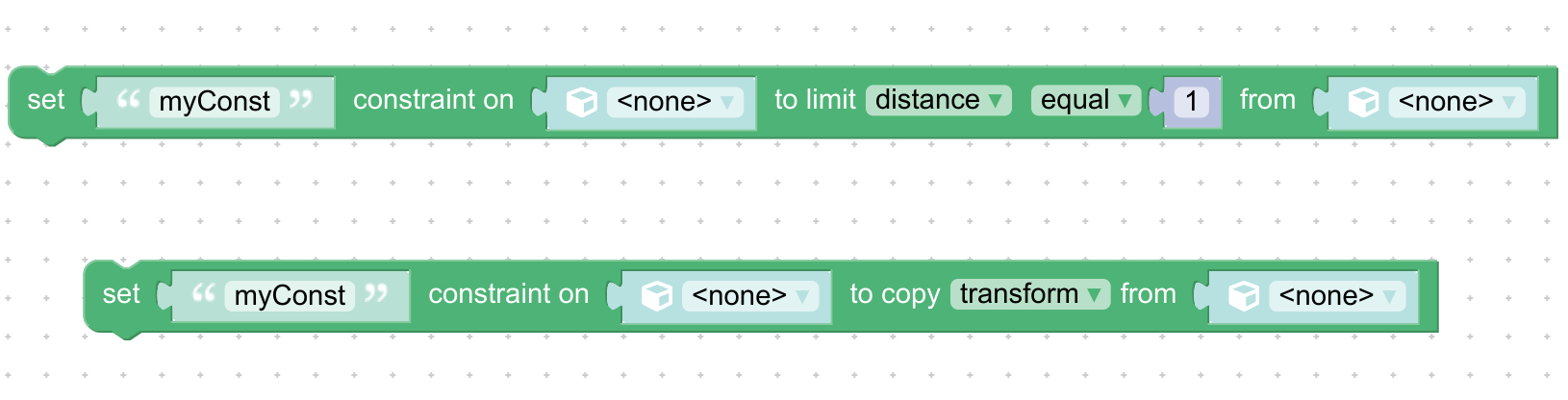 limit constraintandcopy constraintpuzzles