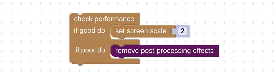 """usage example for Verge3D """"check performance"""" puzzle"""