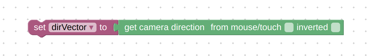 """Verge3D """"get camera direction"""" puzzle"""